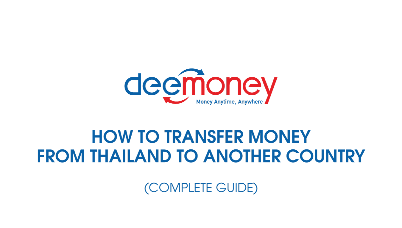 How To Transfer Money From Thailand