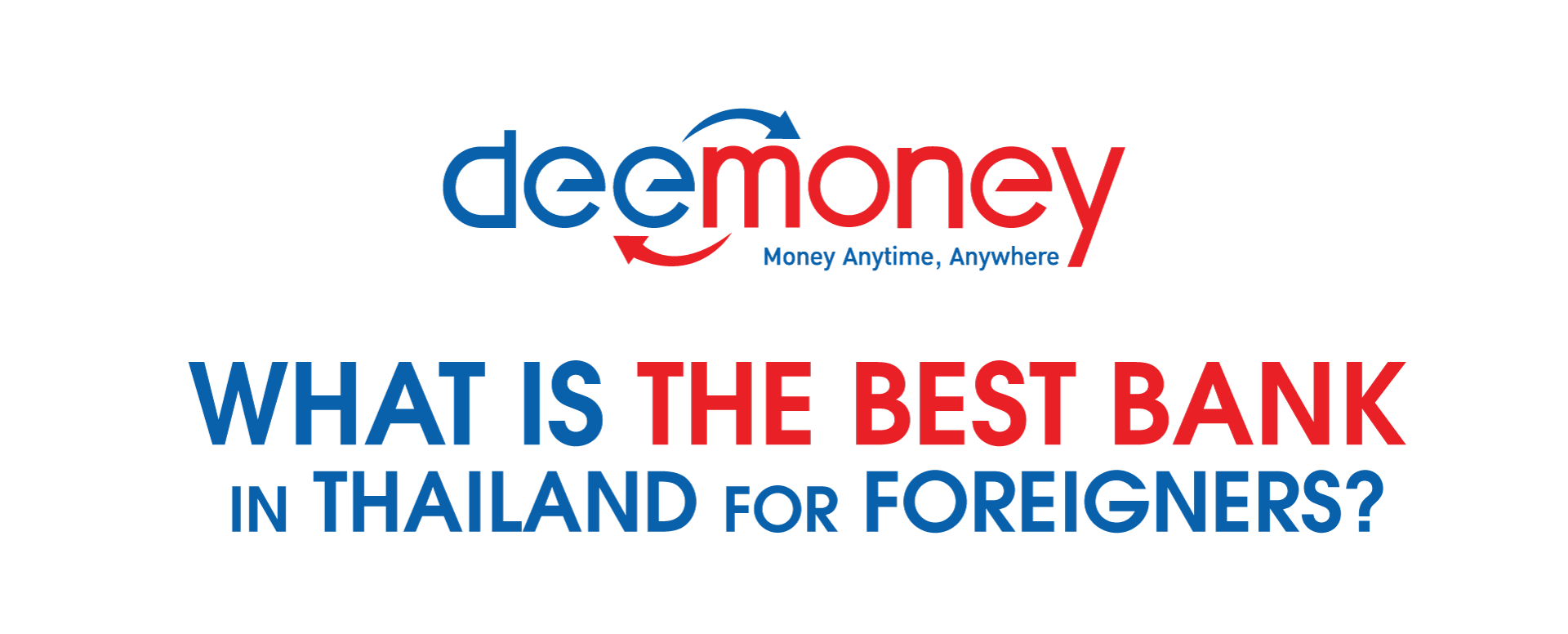 what is the best bank is thailand available for foreigners